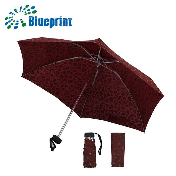 the smallest size travel 5 folding umbrella wind resistent
