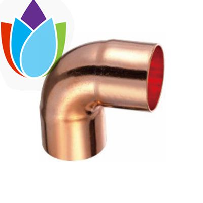 Air Conditioner copper fittings 90 degree copper Elbow FF