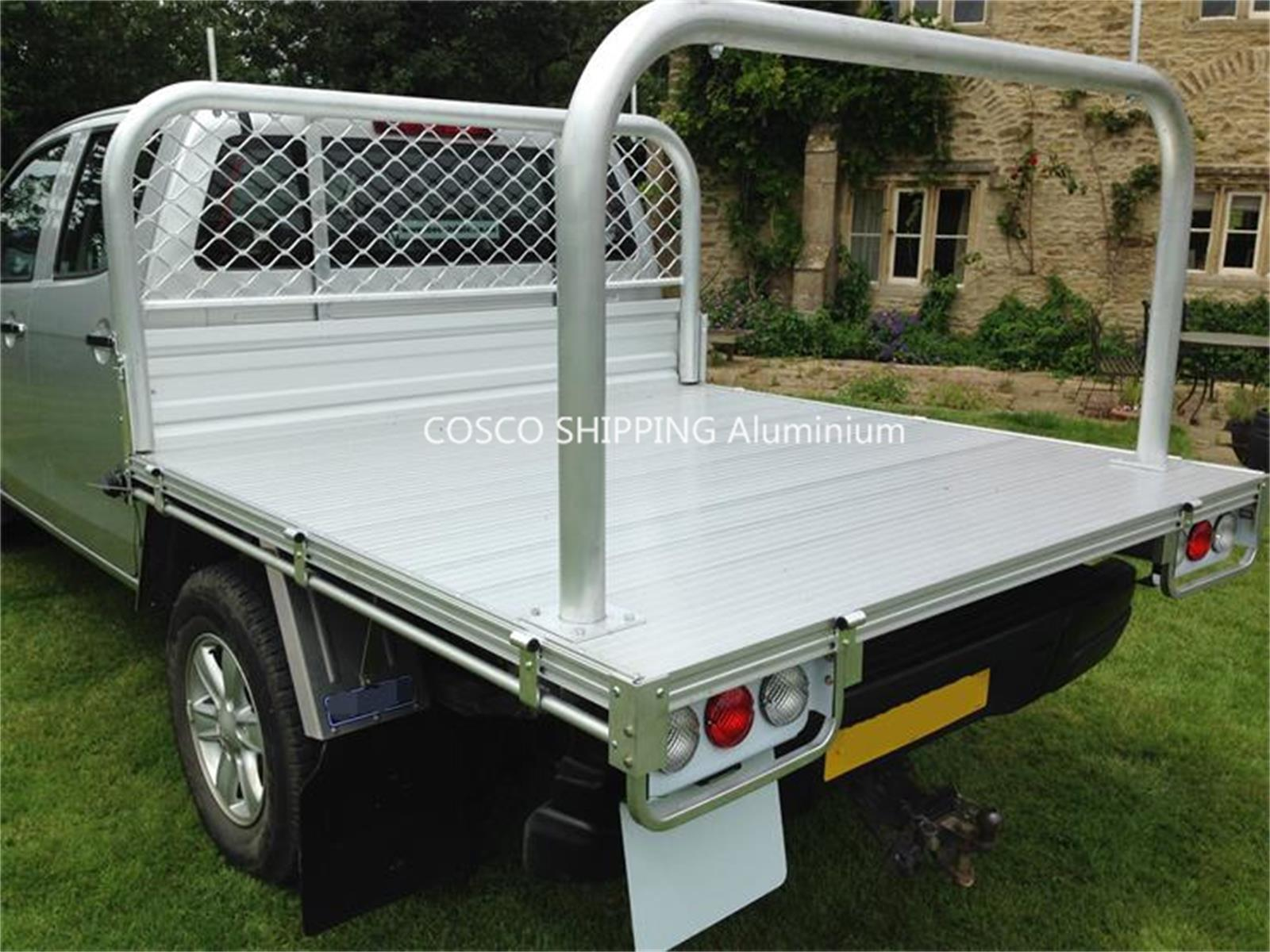aluminum ute pick up tray for commercial car body
