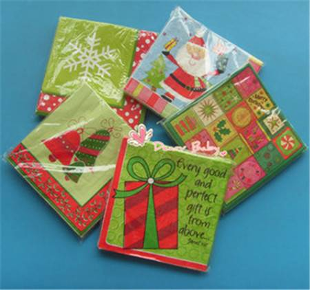 Chrismas Printed Tissue Paper