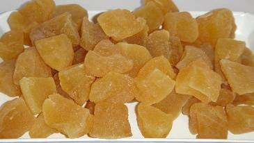 Ginger Dried Fruit preserves food snack Thailand manufacturing Name all fruit