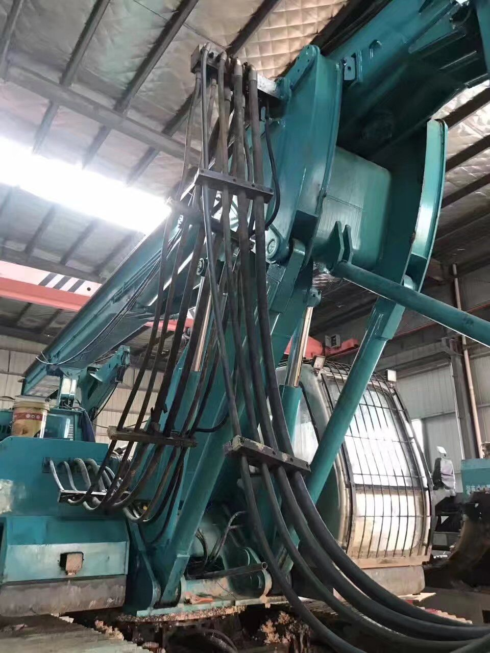 Hydraulic hose for construction machinery