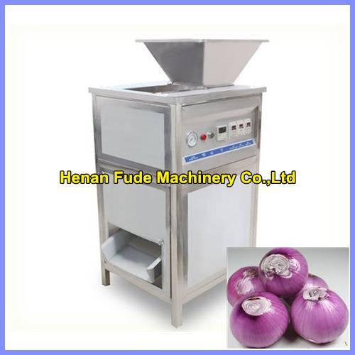 hot selling stainless steel automatic onion peeling machine, onion peeler, onion skin removing machi