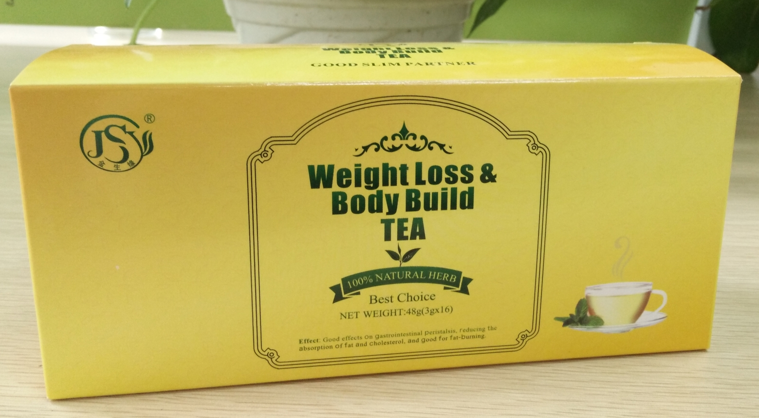 Chinese natural herbal flat tummy diet weight loss slimming tea