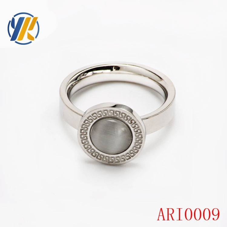 New&Hot Women Lady Silver Plated Bridal Engagement Party Ring Jewelry