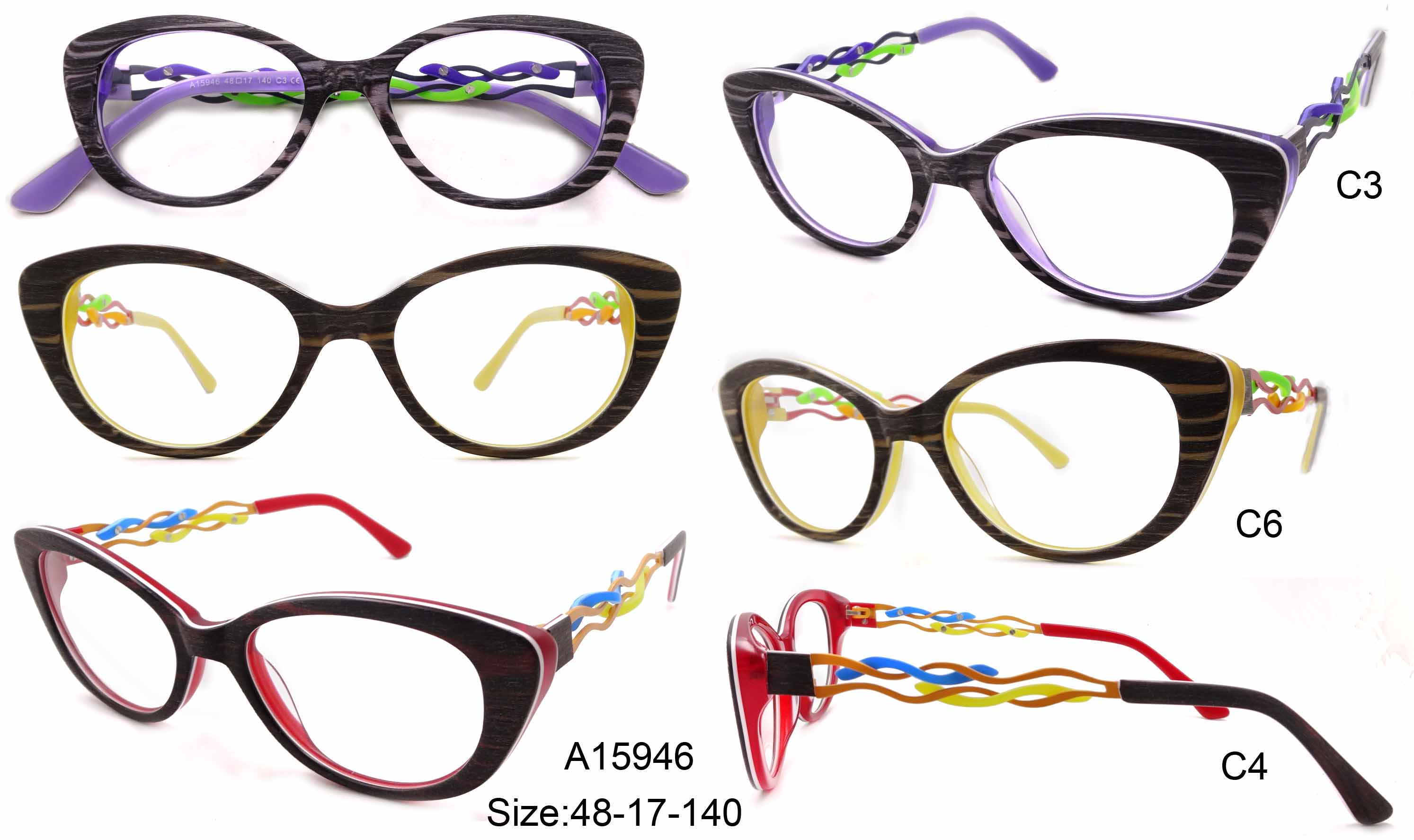 OEM acetate optical frames eyeglasses frame, custom eyewear