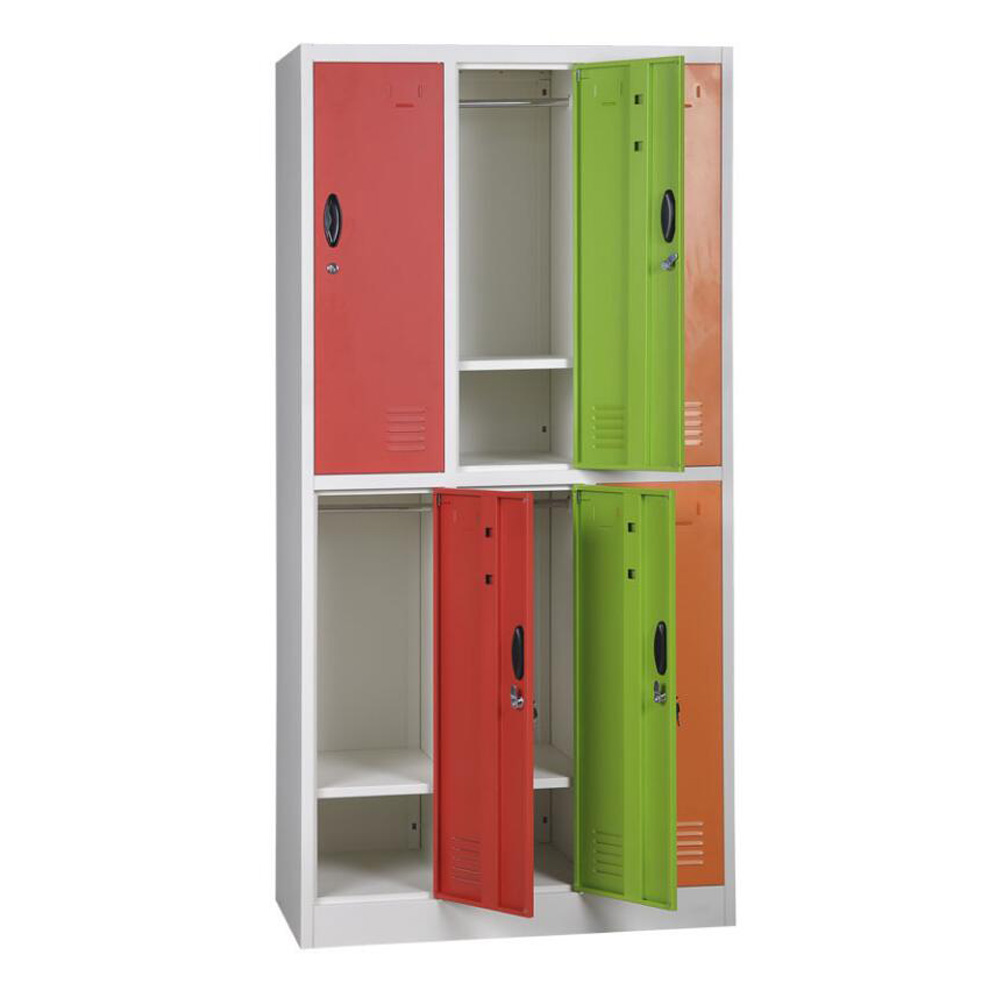 9 door metal school student locker