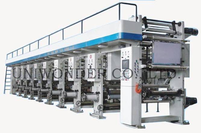 HXAY-series Full Automatic Computerized Color Printing Machine