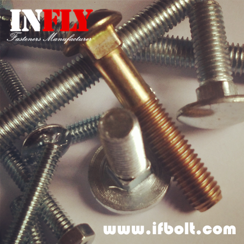 Small Head Carriage Bolt GB10 Small Round Head Square Neck Bolts-Infly Fasteners Suppliers