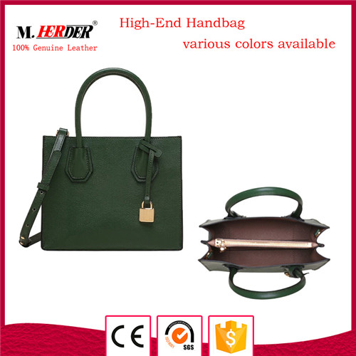 New arrival women genuine leather handbags