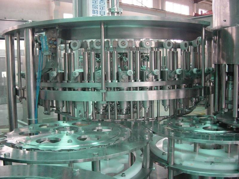 Automatic Carbonated Juice Beverage Filling Machine