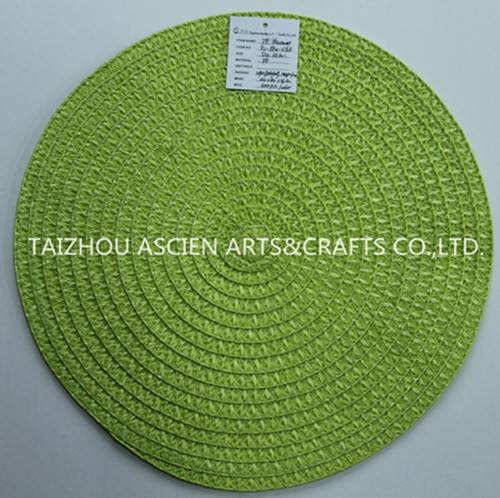 Woven polyester mats YS-PP12-076R