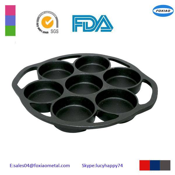 Round Shape FDA cast iron bakeware