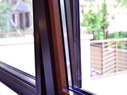 2017 new type Aluminium hung window