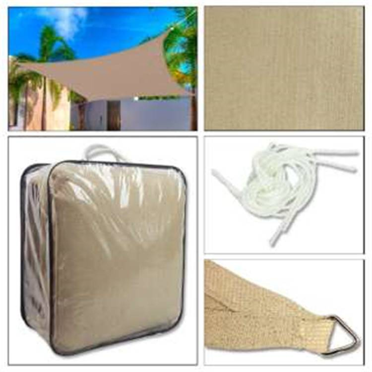 shade sails with uv stabilized