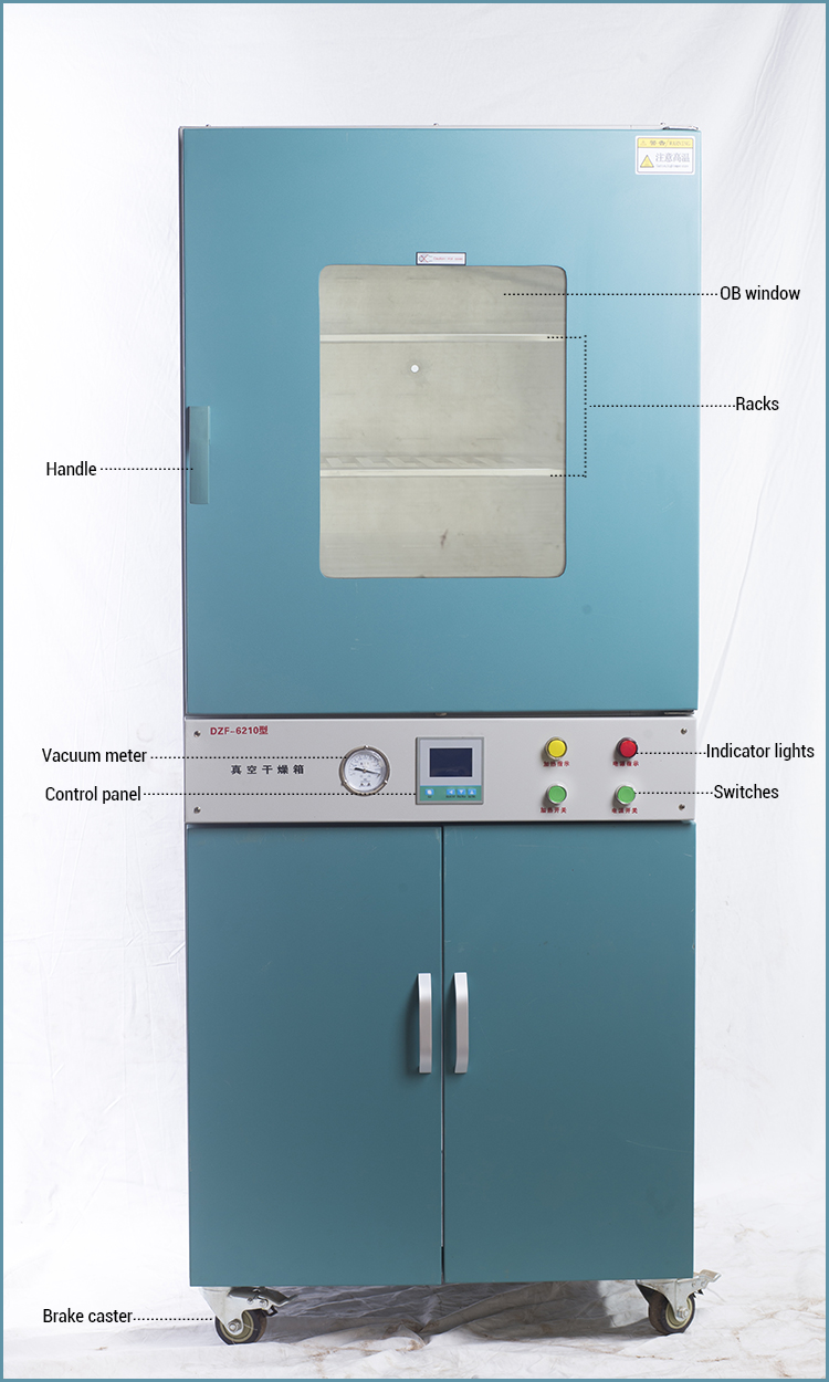DZF Series Vacuum Oven Match Control Panel