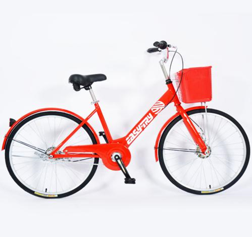 Road bike for sharing in the city sharing bicycle with sharing system