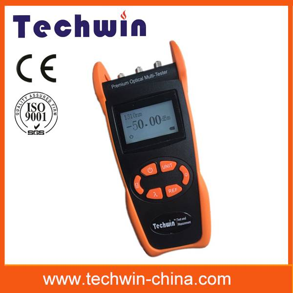 Techwin perfect optical fiber tester TW3305E