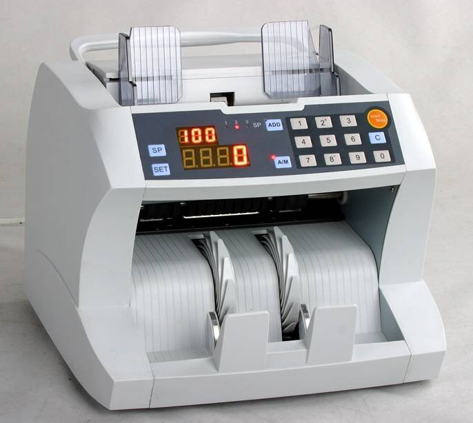 DC200 Banknote Counter (DD Detection)
