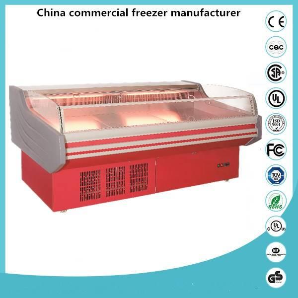 Blue Ocean commercial refrigerator frozen / Meat display refrigerator meat shop equipment