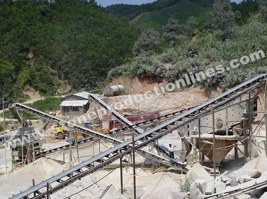 Energy Saving Limestone Sand Making Production Line