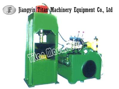 hydraulic metal sawdust  briquetting press