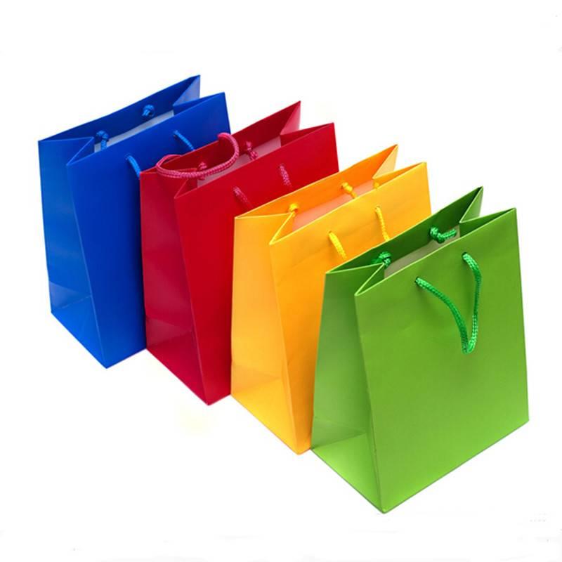 2015 new design fashion gift paper bag manufacturer