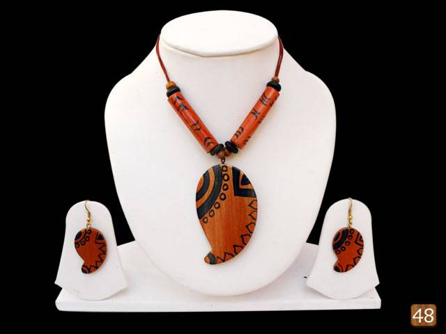 Organic Bamboo Jewelry-African Medley