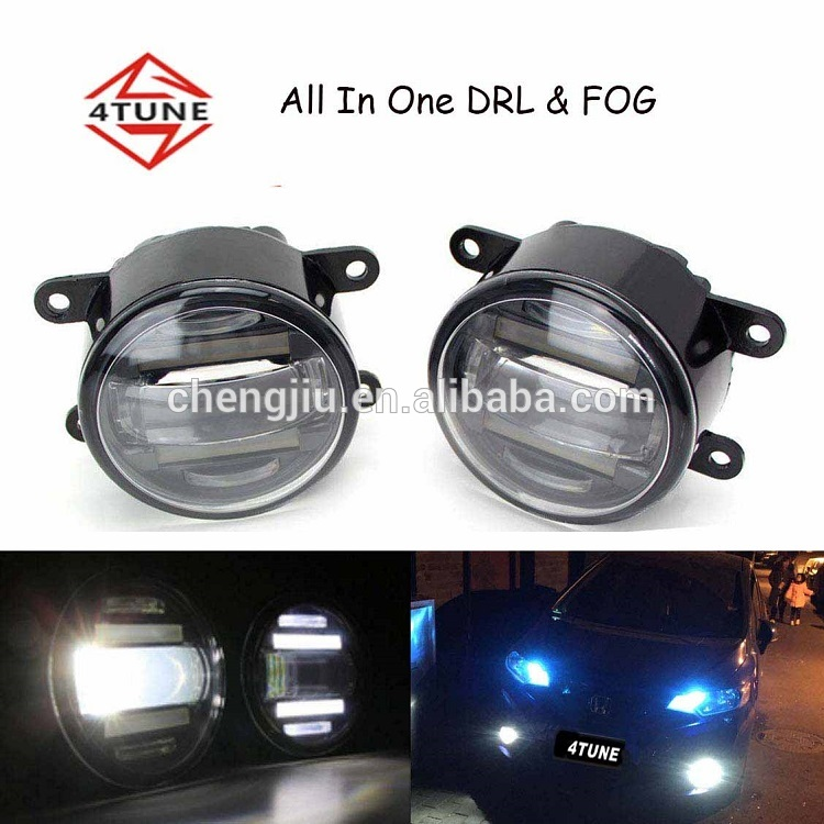 4TUNE auot parts for toyota daytime running light for honda city 2016 led drl fog lamp fog light