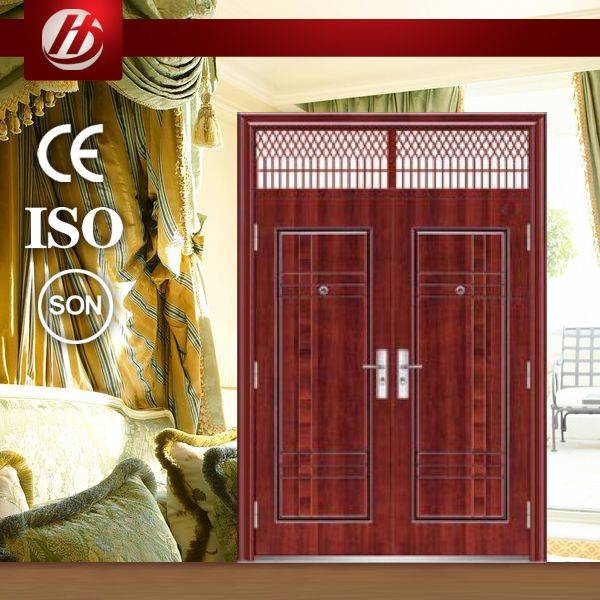 steel exterior double doors