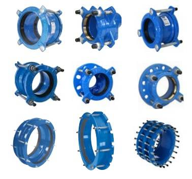 Ductile Iron (GGG) Coupling and Adaptors, End Caps