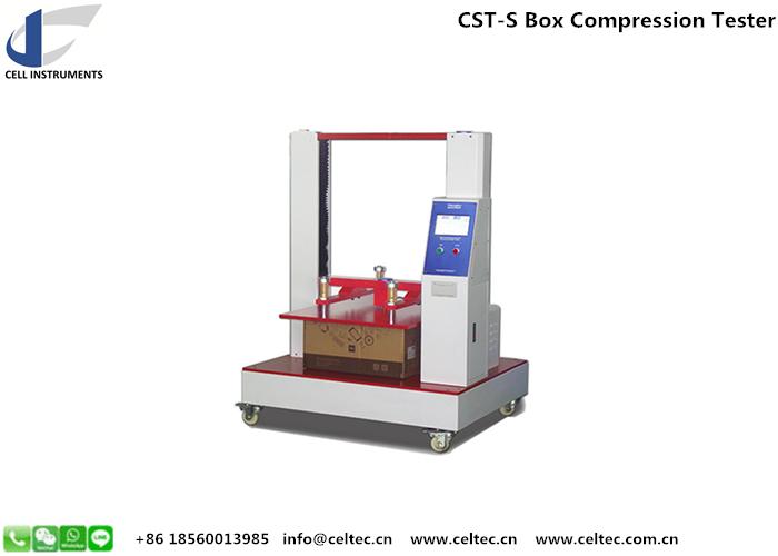 Box compression tester ISO 12048 compressive force tester