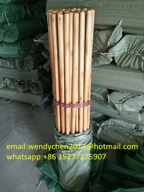 varnished wooden handles,broom mop sticks with low price