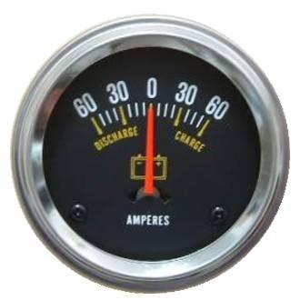 Auto Ammeter 60-0-60 Amperes