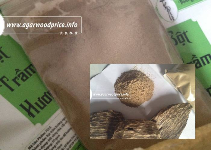 Agawood Powder - High quality material to make incense - incense  with Oud scent