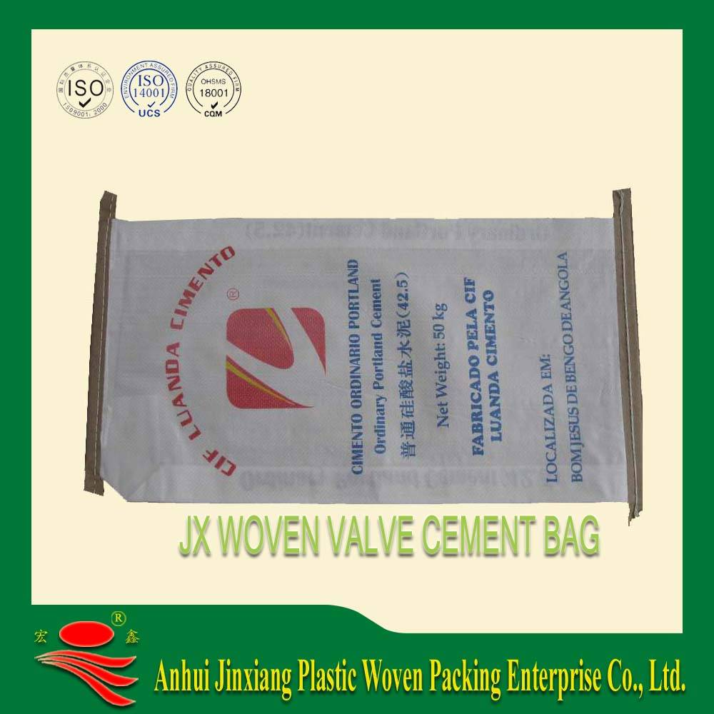 PP Woven Cement Bag with Valve