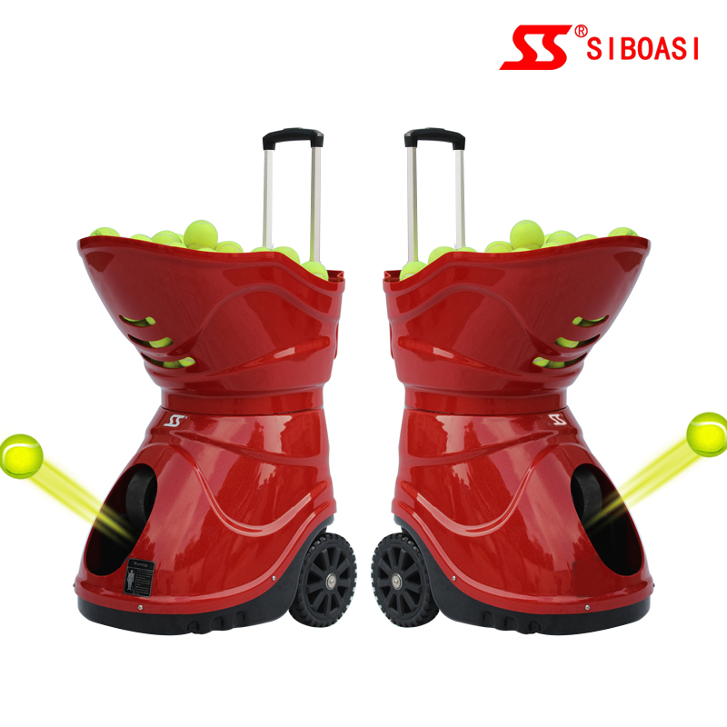 professional tennis ball machine shooter ball shooting for sale from factory supplier W7