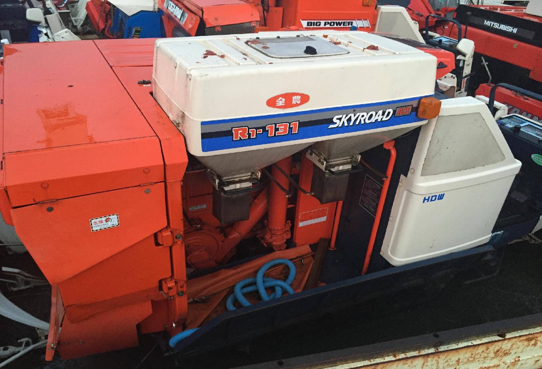 Used combine harvester Kubota R1-131