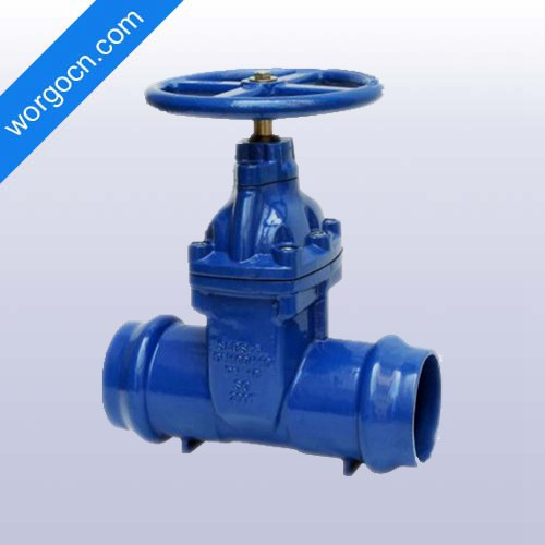 Socket End NRS Resilient Seated Gate Valve