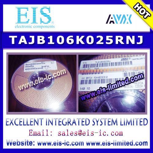 TAJB106K025RNJ - AVX - Standard Tantalum