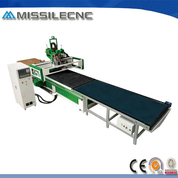 Best price 1325 panel furniture cnc router with air cooling spindle