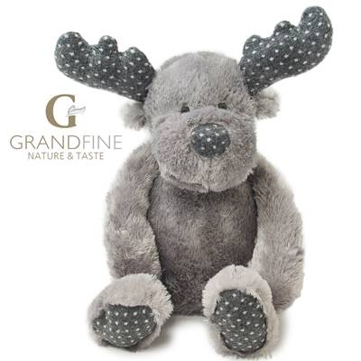 Big doll winter decoration soft stuffing reindeer kid toys pass EN71 test report and CE mark and Rea