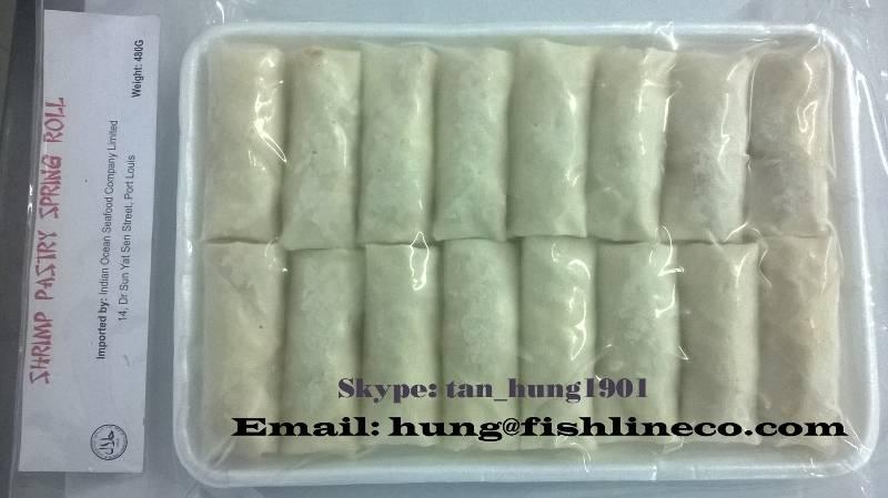 shrimp pastry spring roll