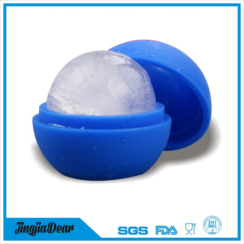 Silicone Round Ice Ball Sphere Maker Molds for Cocktails