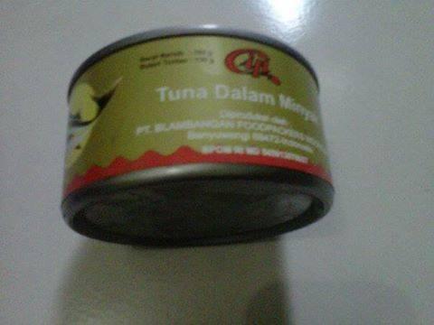 tuna canned and sarden