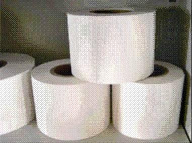 HEPA efficient filtering paper
