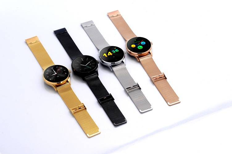 Metal Band Bluetooth Smart Watch compatiable with Both Ios & Andriod