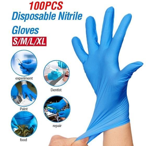 Disposable Powder Free Dark Blue Examination Nitrile Gloves Manufacturer
