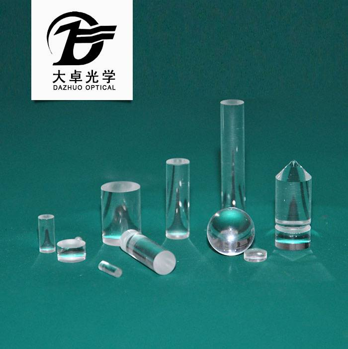 hot selling glass /Fused Silica /Sapphire optical rod lens