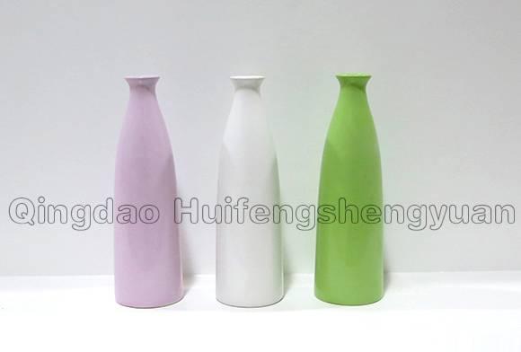 handmade under-glazed ceramic vase